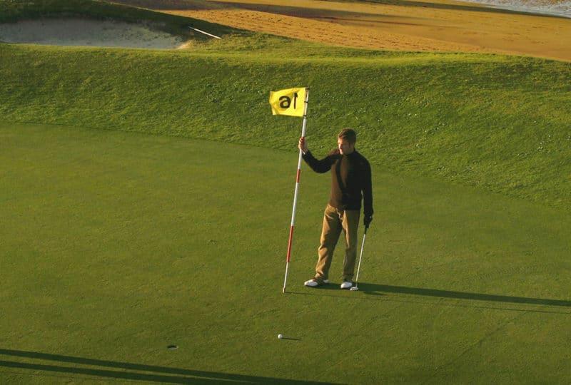 Golfers in Calvados