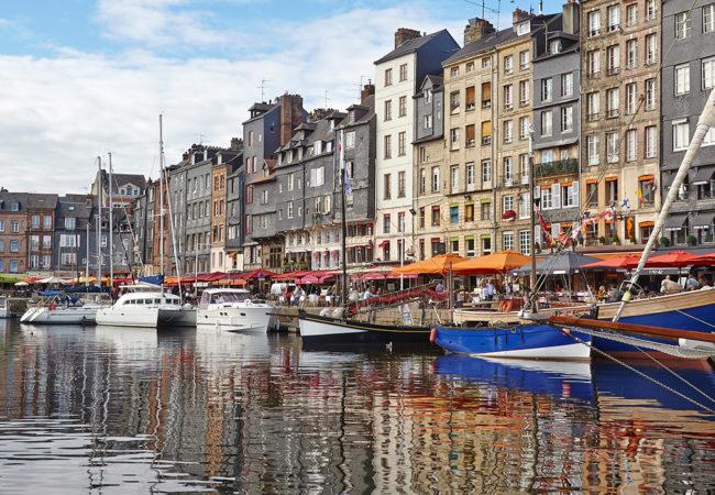 Pleasure boating, Honfleur in Calvados