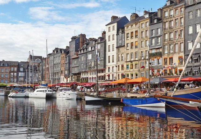 The Old Harbour in Honfleur