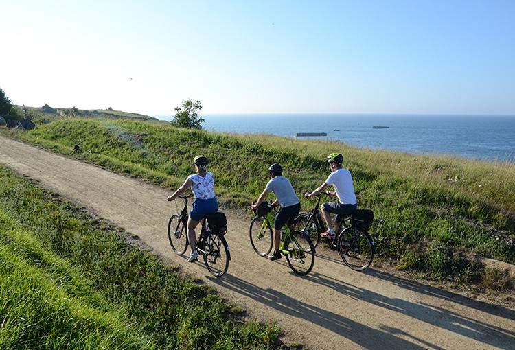Accompanied cycle tour along the Calvados coast
