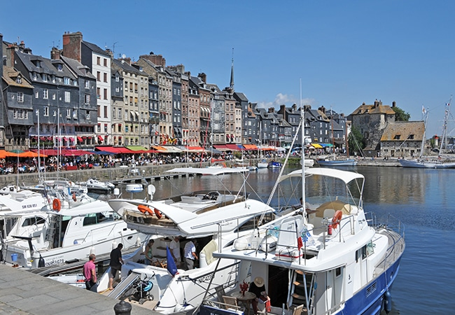 Old Harbour in Honfleur