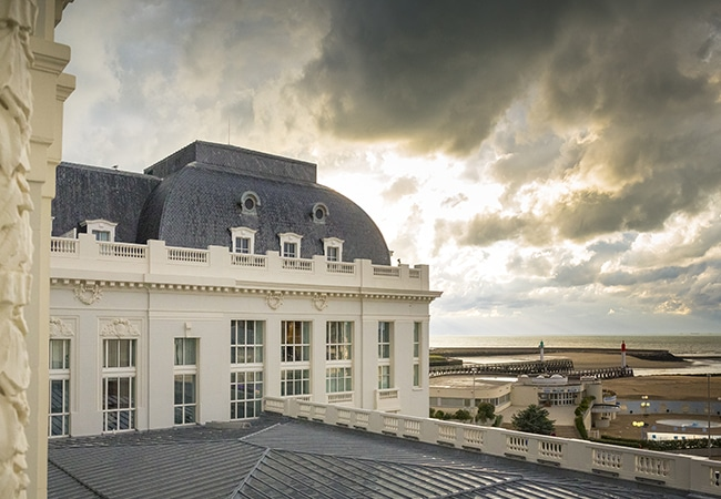 View of the casino in Trouville sur mer