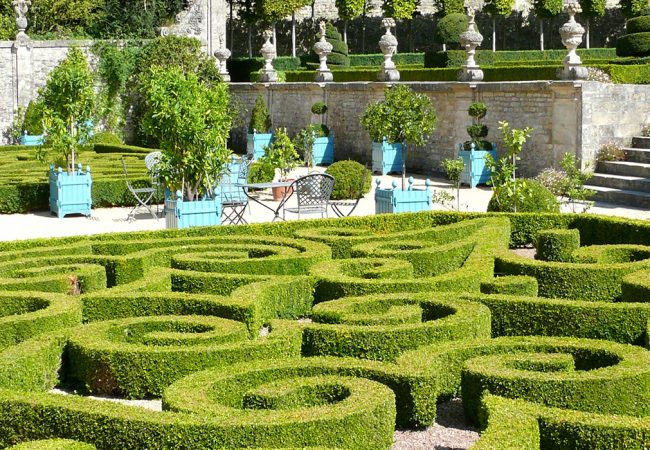 Park and garden in Bessin in Calvados