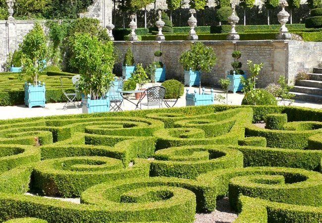Park and garden in Bessin in Calvados