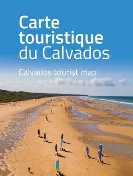 Carte touristique du Calvados 2020