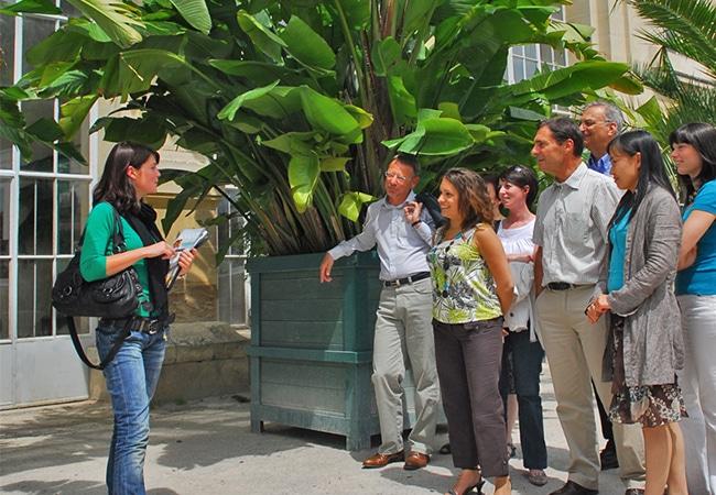 visite guidée-jardin des plantes Caen