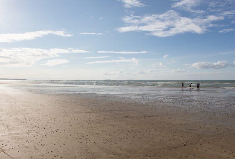 A stroll along a Bessin beach