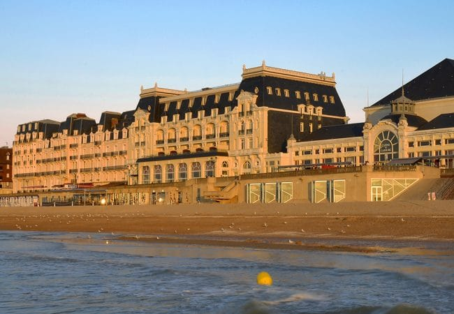 View of the Grand Hôtel de Cabourg in Calvados