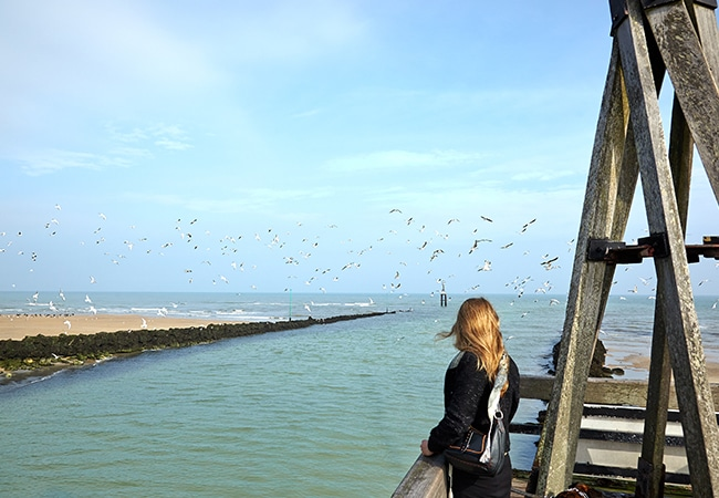Grande marée dans le Calvados